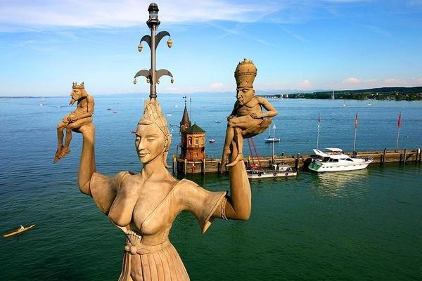Германия. Скульптура Империя