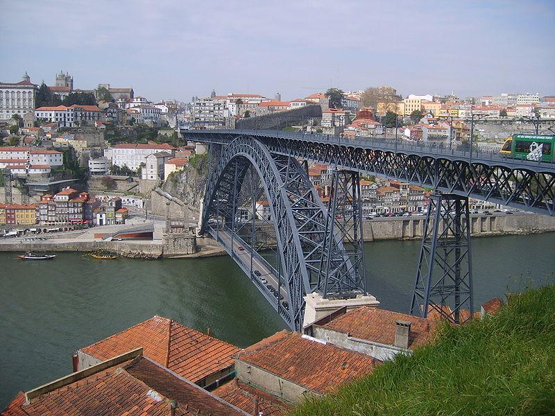 Португалия. Мост дона Луиша.