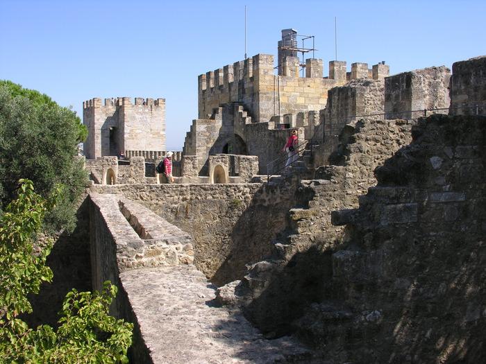 2644 Португалия. Замок Святого Георгия.