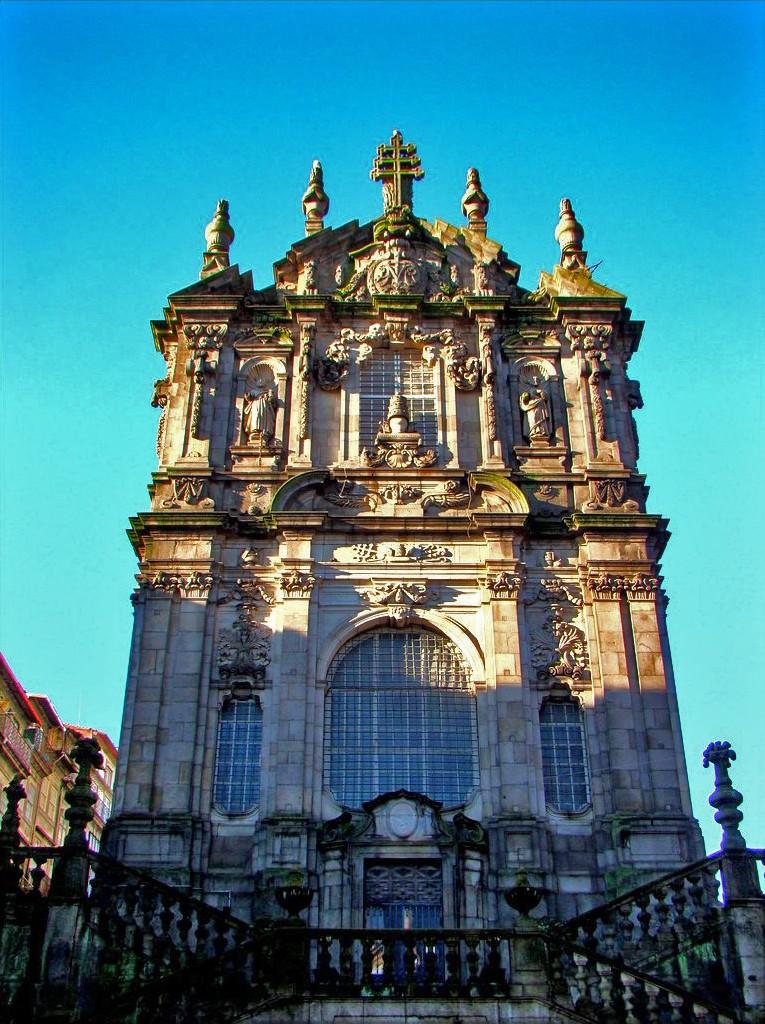 2648 Португалия. Церковь Клеригуш.