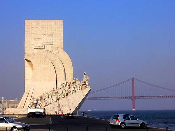 2640 Португалия. Памятник первооткрывателям.