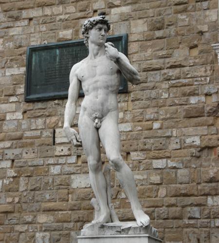 2498 Флоренция. Давид. Скульптура Микеланджело