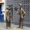 2453 Германия. Памятник Тюннесу и Скалу