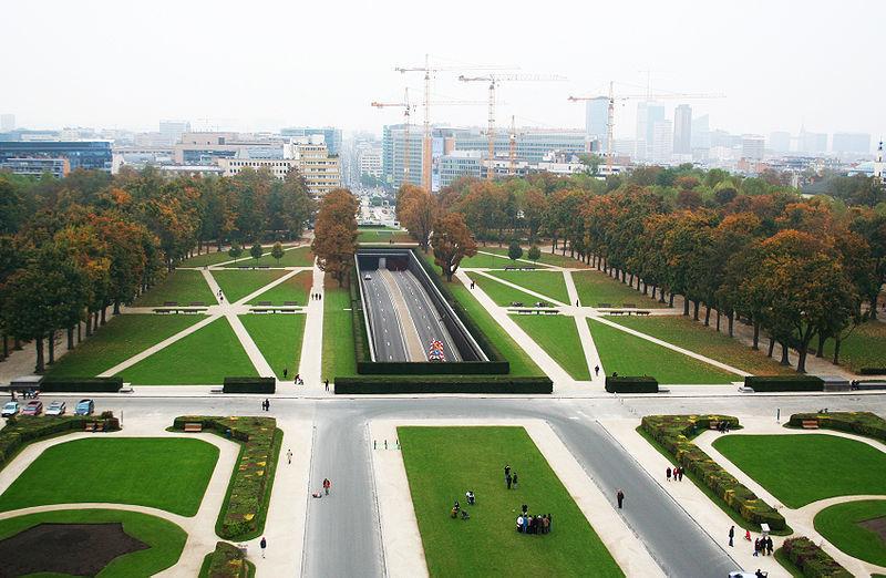 Бельгия. Парк пятидесятилетия.