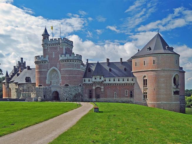 Бельгия. Замок Гаасбек.