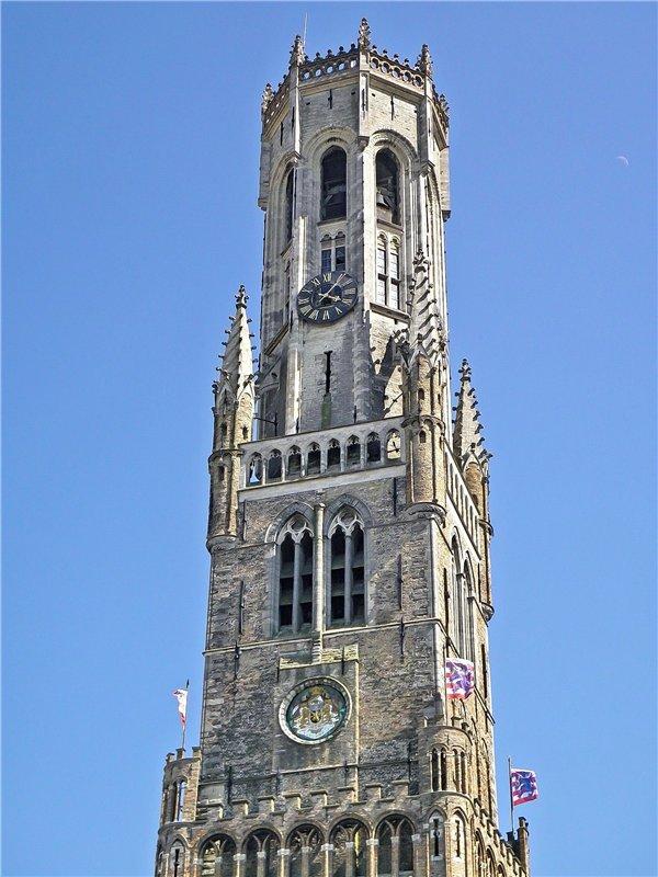 2485 Бельгия. Беффруа Брюгге.