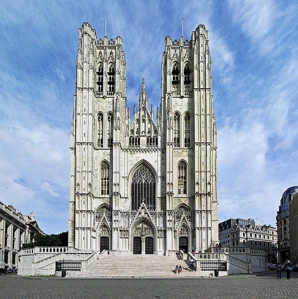2481 Бельгия. Брюссельский собор.