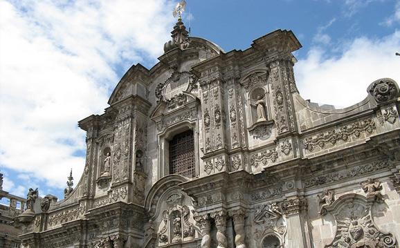 Эквадор. Кито: Церковь Общества Иисуса.