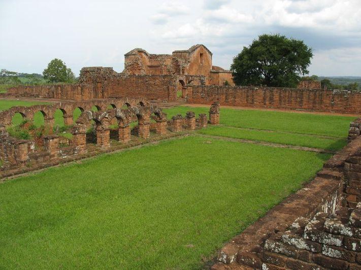 4478 Парагвай. Миссия иезуитов Ла-Сантисима-Тринидад-де-Парана.