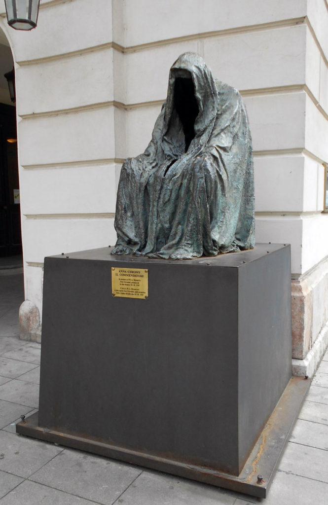 Чехия. Скульптура Командор