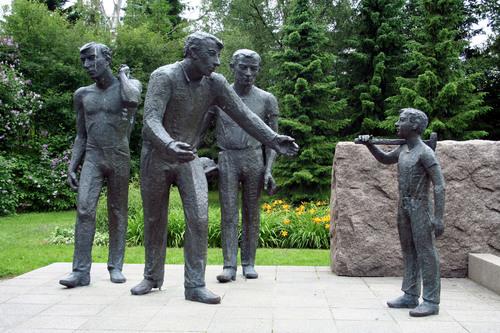 Финляндия. Оутокумпу.