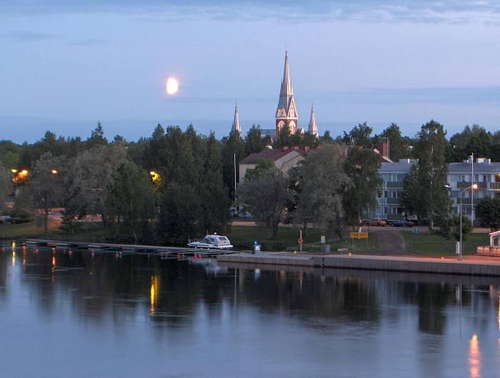 Финляндия. Йоэнсуу.