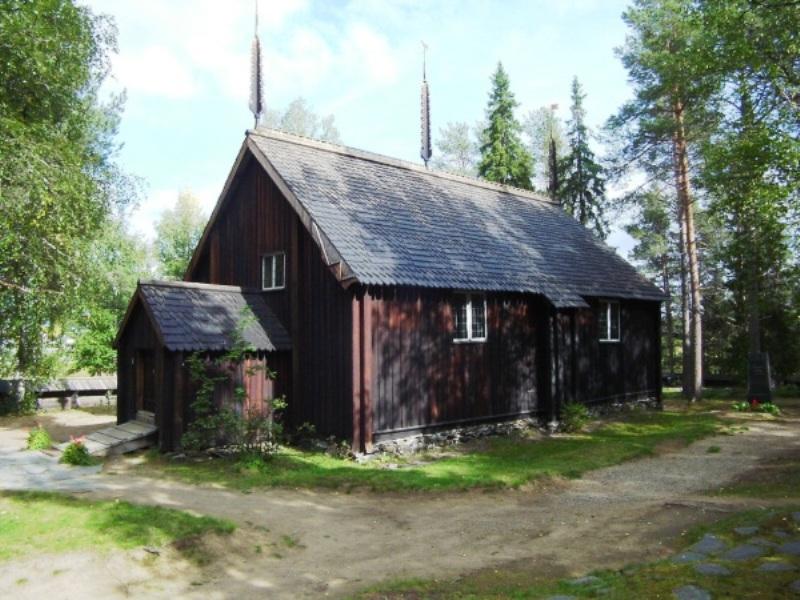 Финляндия. Соданкюля.