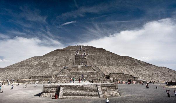 Мексика. Пирамида Солнца.