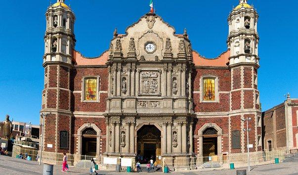 Мексика. Базилика Пресвятой Девы Гваделупской.