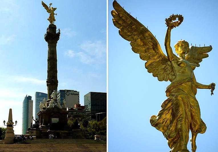 Мексика. Ангел независимости.