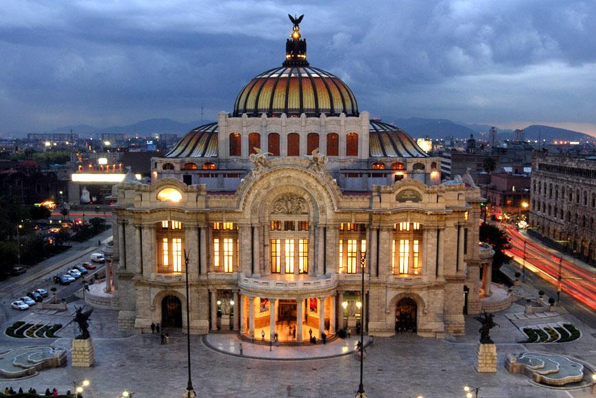 Мексика. Дворец изящных искусств.