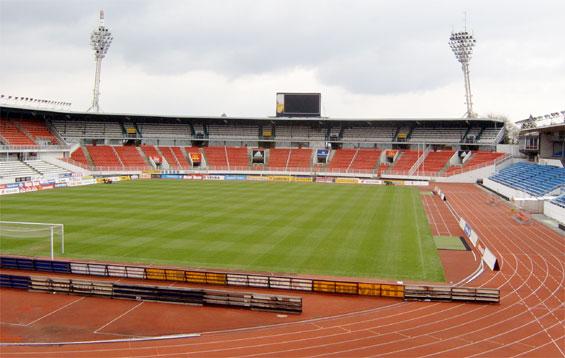 5955 Чехия. Страговский стадион.