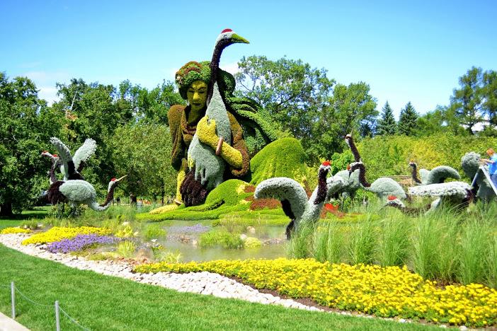 5906 Канада. Монреальский ботанический сад.