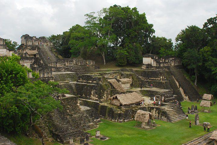 Гватемала. Тикаль.