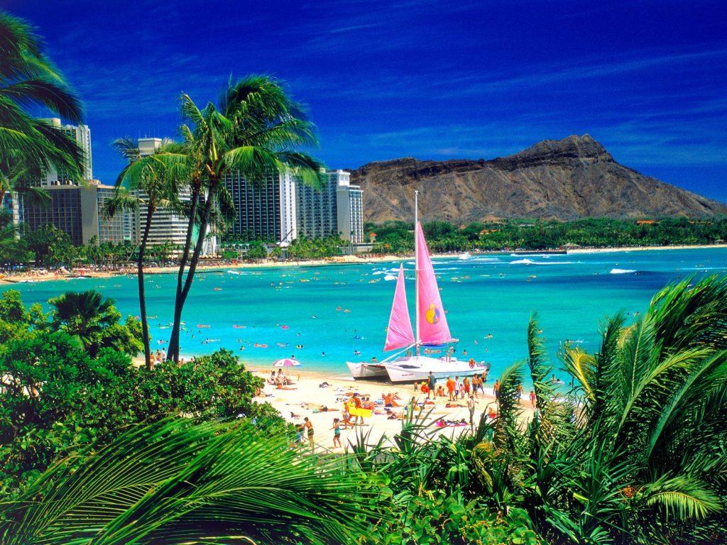 6034 США. Гавайи.
