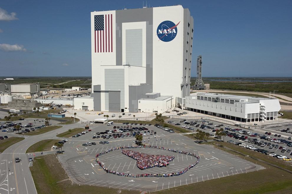 США. Космический центр Кеннеди.