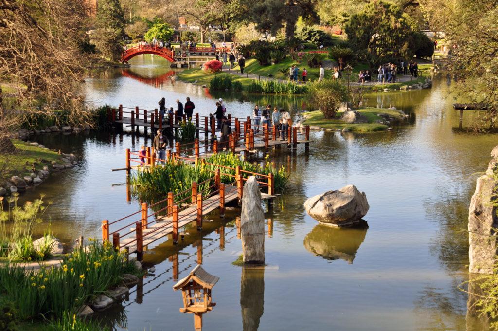 Аргентина. Буэнос-Айресский японский сад.