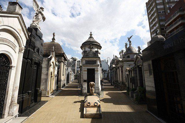Аргентина. Кладбище Реколета.