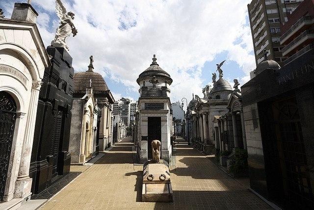 6793 Аргентина. Кладбище Реколета.
