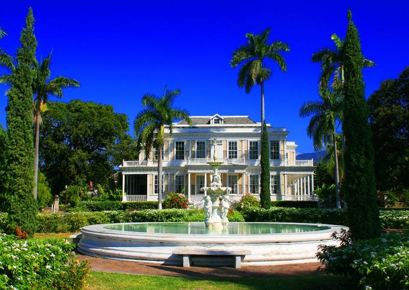 Ямайка. Девон Хаус.