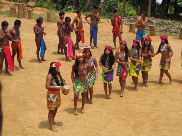 Панама. Национальный парк Чагрес.