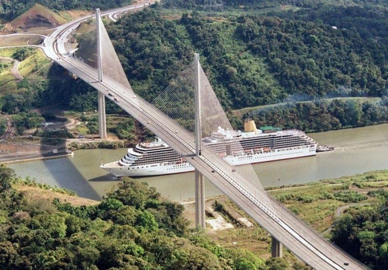 Панама. Мост Столетия.