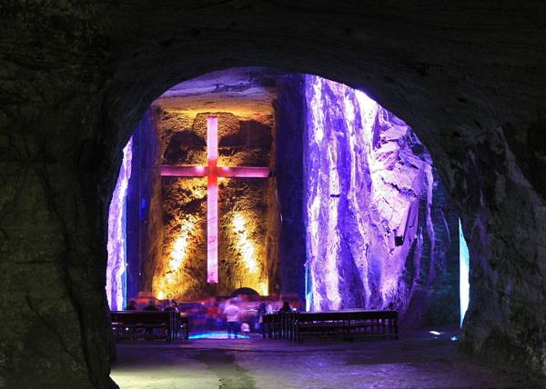 Колумбия. Соляной собор Сипакиры.