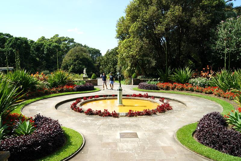 7318 Австралия. Королевский ботанический сад.