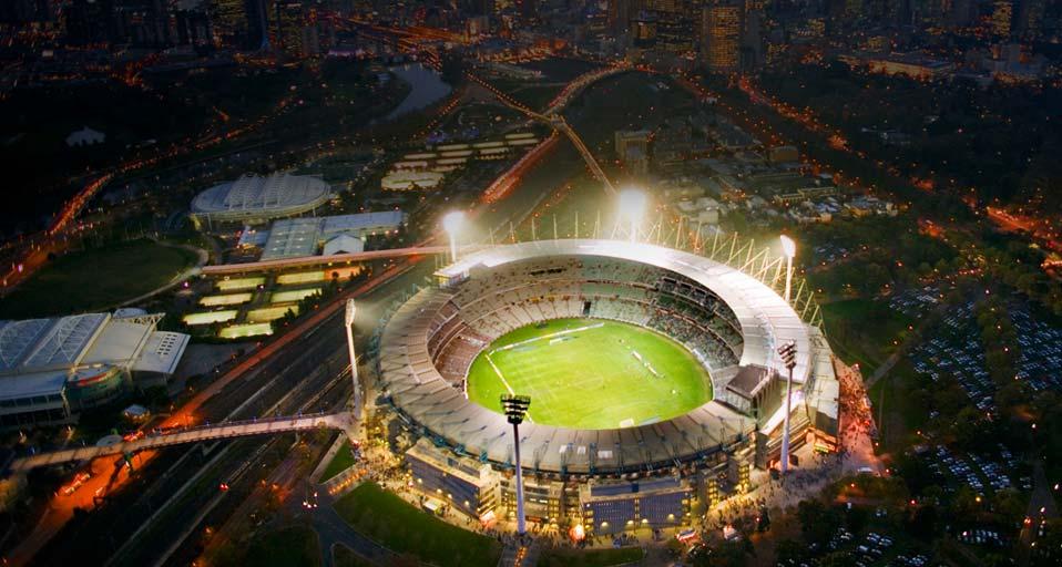 Австралия. Мельбурн Крикет Граунд.