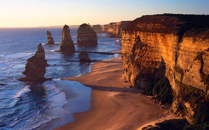 Австралия. Двенадцать апостолов.