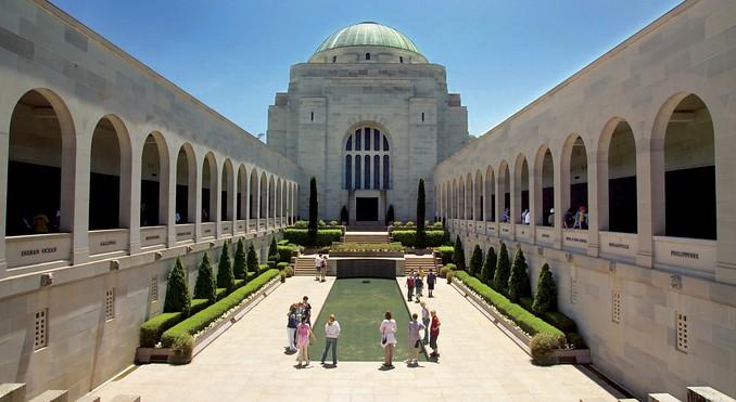 Австралия. Австралийский военный мемориал.