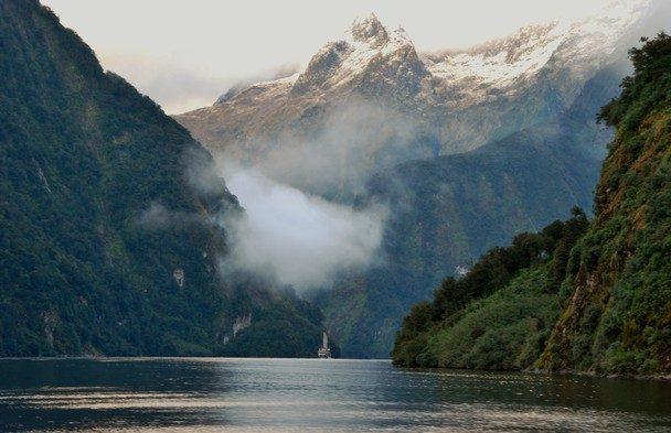 Новая Зеландия. Даутфул-Саунд.