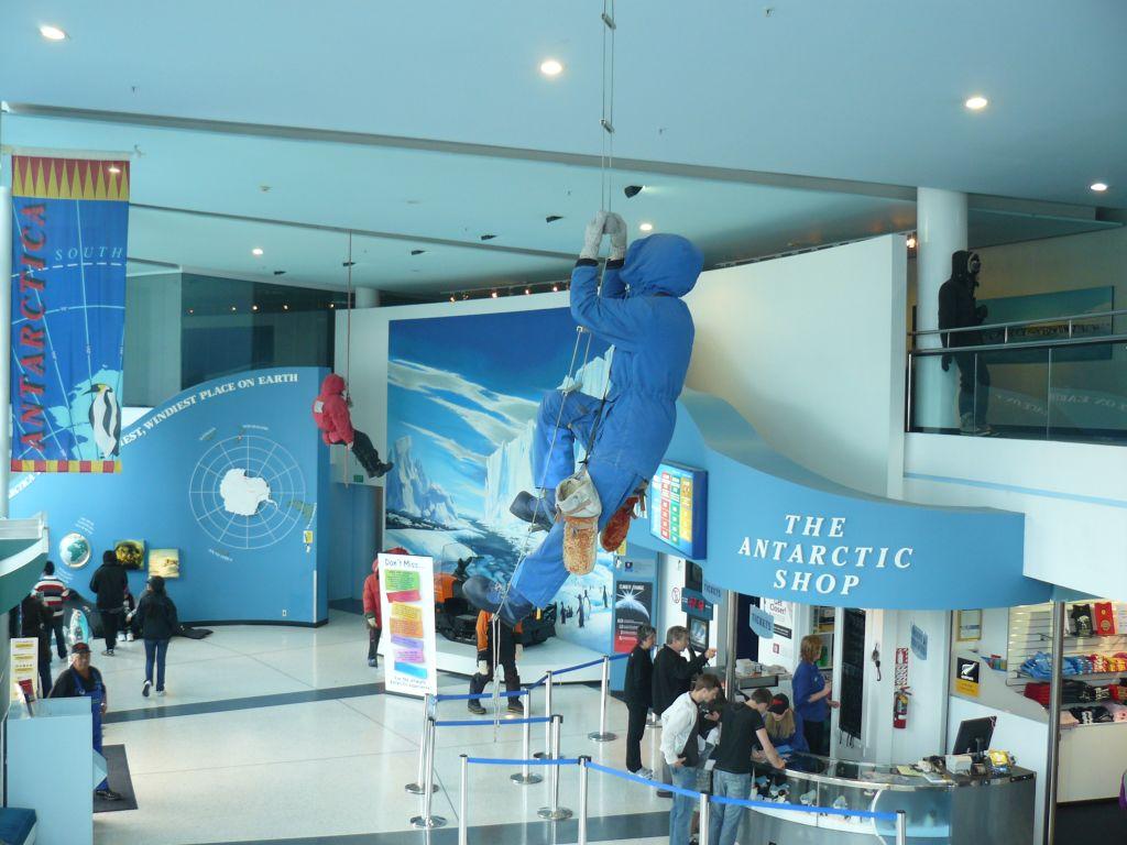 Новая Зеландия. Международный антарктический центр.