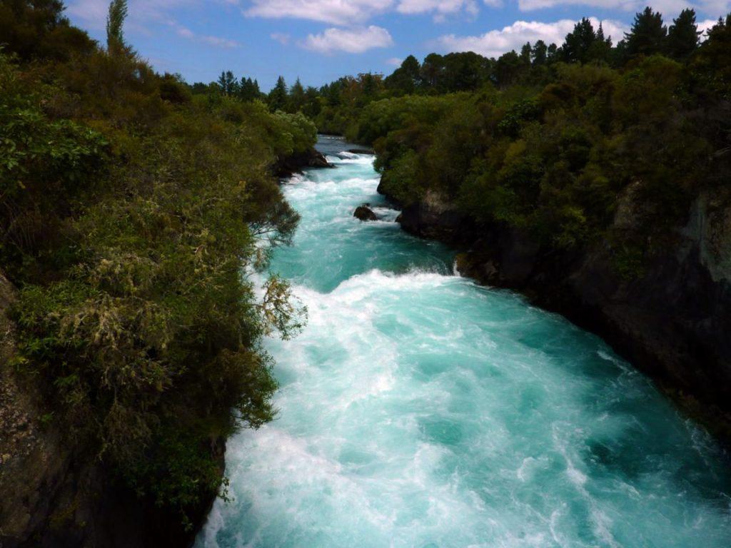 Новая Зеландия. Водопад Хука.