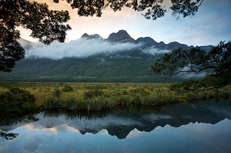 Новая Зеландия. Национальный парк Фьордленд.