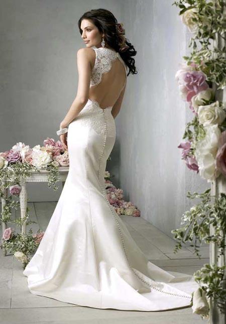 Свадебные платья. Какие фасоны будут блестать в этом году?