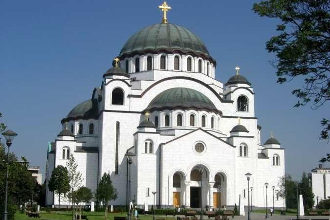 Сербия. Храм Святого Саввы.