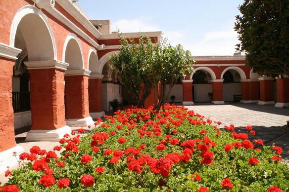 Перу. Монастырь Санта Каталина.