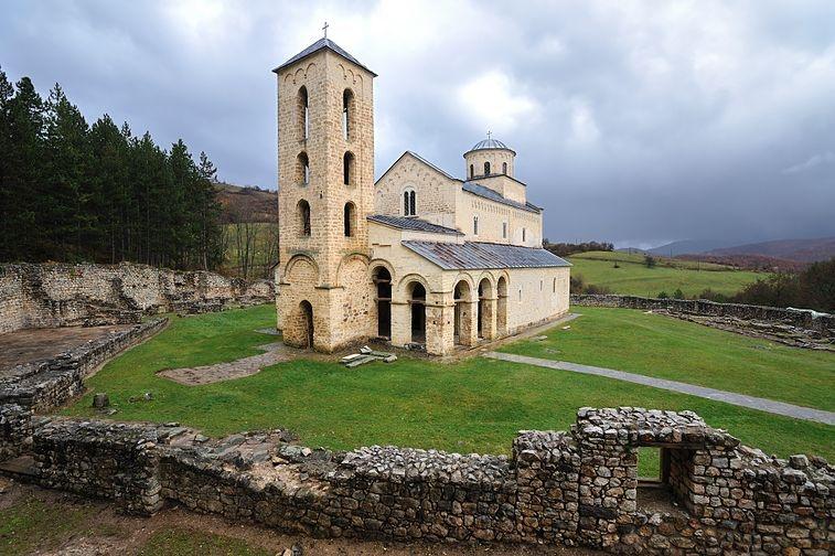 Сербия. Монастырь Сопочаны.