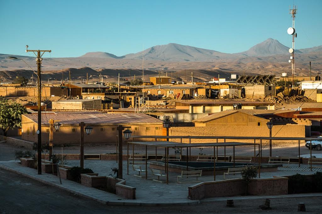 Чили. Деревня Токонао.