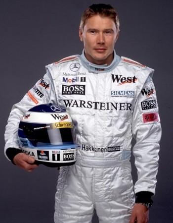 Гонщик Мика Паули Хеккинен – был Чемпионом мира Формулы Один 1998 и 1999 годов.