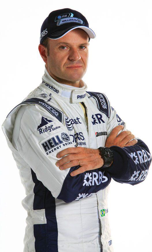 """Бразильский гонщик, который конкурировал в Формуле Один между 1993 и 2011, Рубенс Гонсэйльвс """"Rubinho"""" Барикелло."""