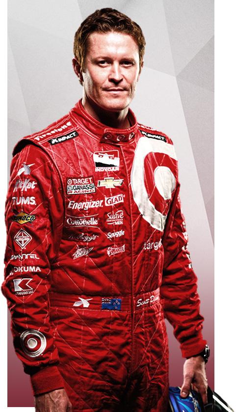 Гонщик Скотт Рональд Диксон, является  тройным Чемпионом IndyCar.