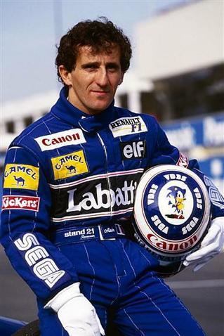 8837 Гонщик Ален Мари Паскаль Прост. Четырехразовый Чемпион Водителей Формулы Один.